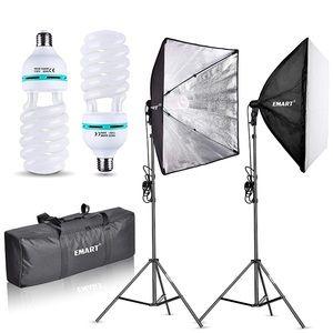 LimoStudio Photography Lighting Set of 2